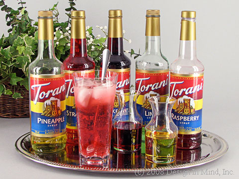 Torani Fruit Flavored Syrup