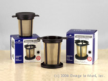 Incredabrew flow through coffee and tea makers for one mug a...