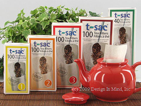 t-sac tea filters, full case (48 boxes)