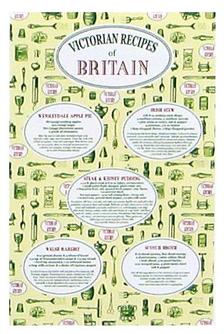 Tea Towel-Victorian Recipes