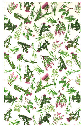 Tea Towel-Heather & Thistle