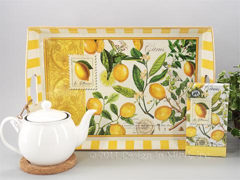 Lemons napkin