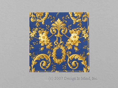 Antoinette Dark Blue napkin