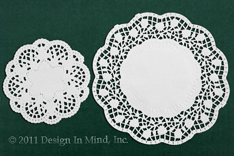 Rose Lace Doilies