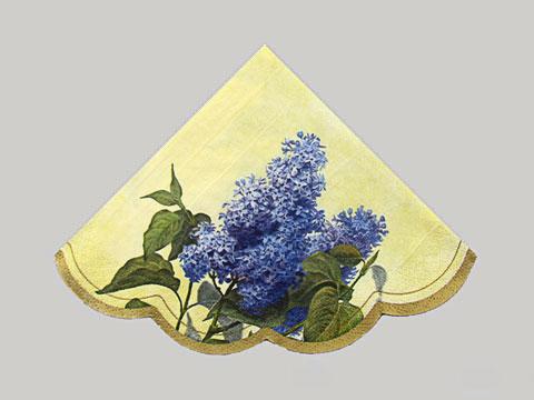 Lilac Cream napkin
