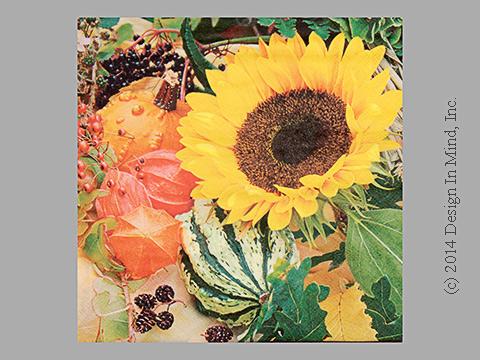 Sunflower Bloom napkin