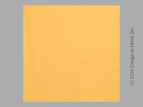 Sun Yellow napkin