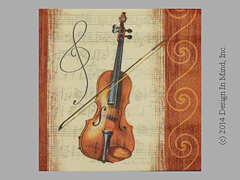 Violin napkin