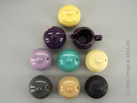 Pristine Creamer/Sugar Bowl