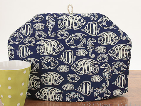 Tea Cozy - Deep Blue Sea