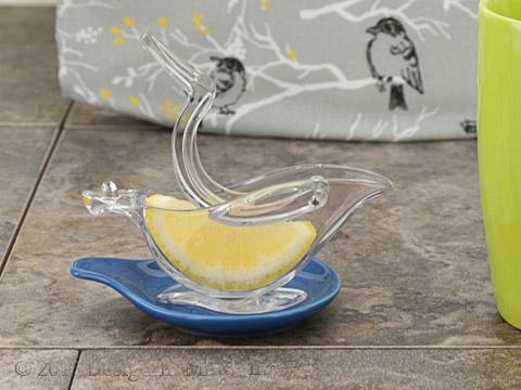Acrylic Bird Lemon Squeezer