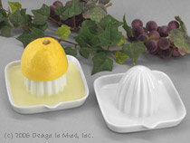 White Porcelain Lemon Squeezer...