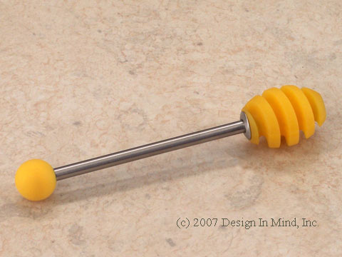 Silicone Honey Dipper