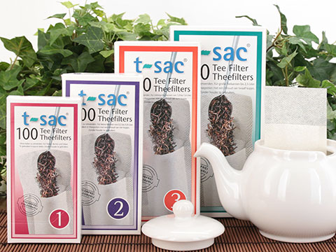 t-sac tea filters, split case (12 boxes)