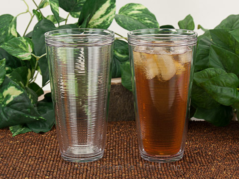 Clear Insulated Tumbler