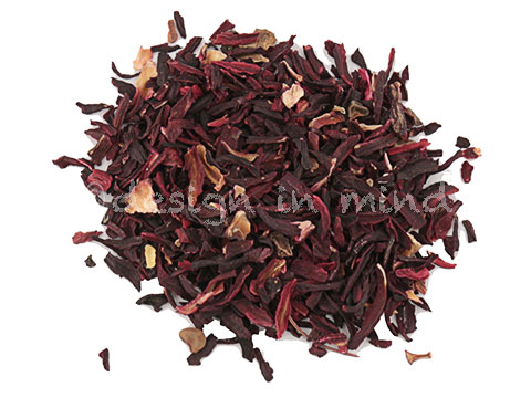 Herbal Tea, Hibiscus, cut