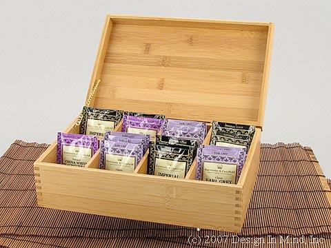 Bamboo Tea Chest
