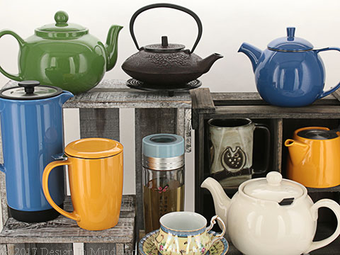 Teapots selected first for quality, then for value.