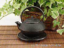 Tetsubin teapots, or cast iron teapots, come in many colors ...