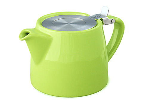 Stump teapot-lime