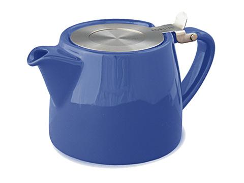 Stump teapot-marine