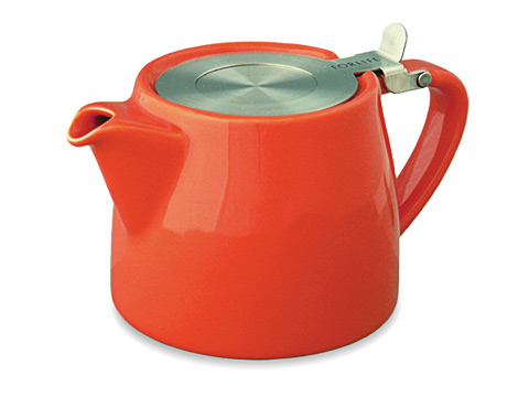 Stump teapot-paprika