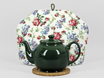 Peter Sadler Teapot, hunter green ...
