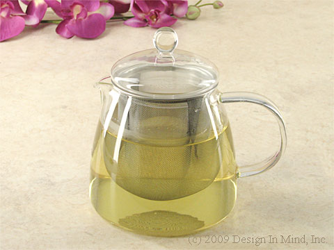 Japanese glass tea pot 24 oz.