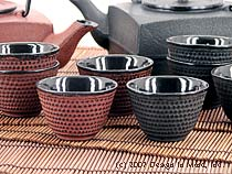 Cast Iron Tea Cups - set of 4...