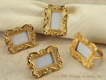 Picture Frame Napkin Rings...