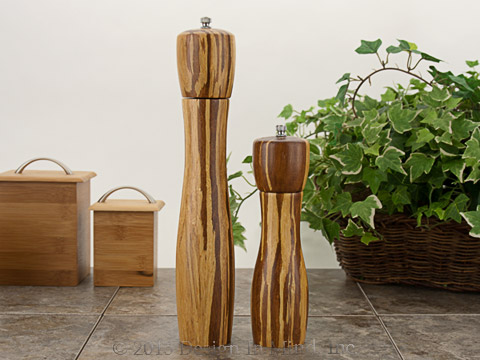Bamboo Salt/Pepper Mill