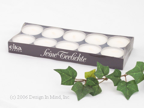 Tealight candles (box of 10)