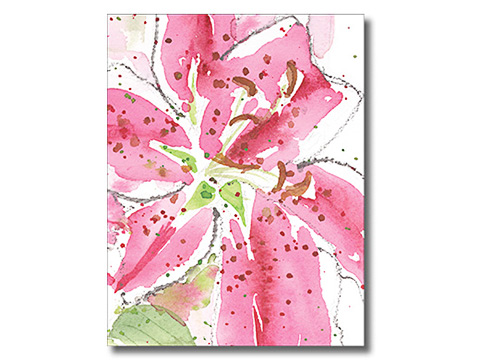 Tiger Lilies Notecards