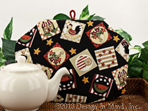 Tea Cozy - Country Squares...
