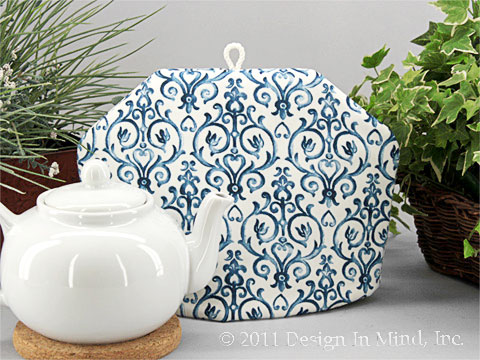 Tea Cozy - Blue Finial