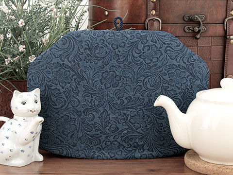 Tea Cozy - Denim Flourish