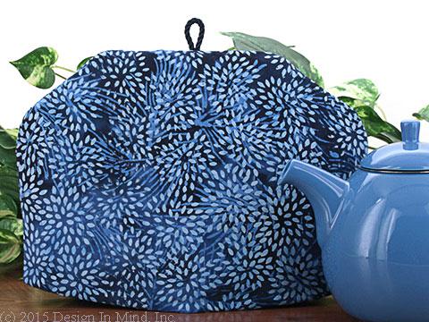 Tea Cozy - Blue Mum Batik