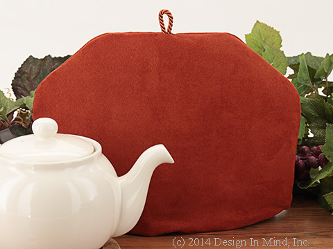 Tea Cozy - Cinnamon Suede