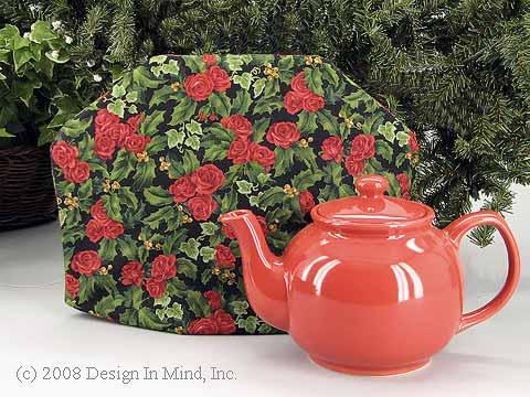 Tea Cozy - Christmas Rose