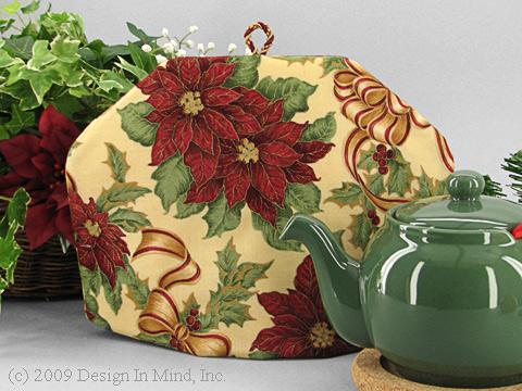 Tea Cozy - Poinsettia Splendor
