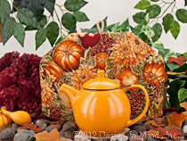 Tea Cozy - Golden Harvest tea cozy...