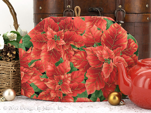 Tea Cozy - Poinsettia Profusion