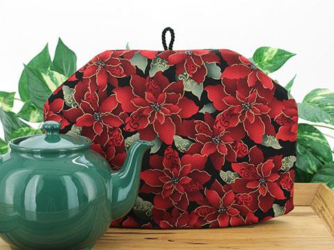 Tea Cozy - Poinsettia Flourish