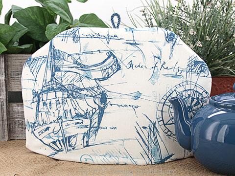 Tea Cozy - Nautical Sketches