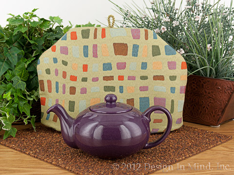 Tea Cozy - Meandering Mosaic