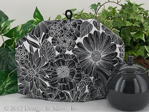 Tea Cozy - Floral Woodcut