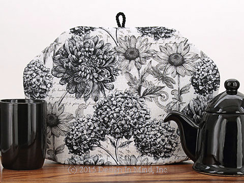 Tea Cozy - Pen and Ink Botanical