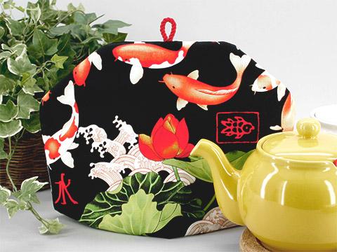 Tea Cozy - Midnight Koi
