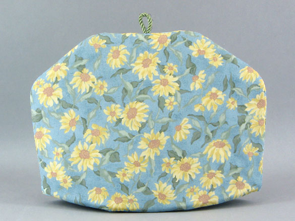 Tea Cozy - Sunflower Blue