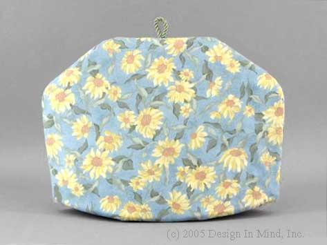 Tea Cozy - Sunflower Blue